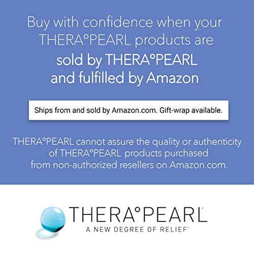 TheraPearl Color Changing Reusable Hot Cold Pack with Strap, Sports Size Ice Pack with Gel Beads, Flexible Hot & Cold Compress for Pain Relief, Swelling, Sports Injuries, Cooling & Heating Pad