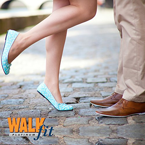 WalkFit Platinum Foot Orthotics Plantar Fasciitis Arch Support Insoles Relieve Foot Back Hip Leg and Knee Pain Improve Balance Alignment Over 10 Million Sold Men 6-6.5 / Women 7-7.5