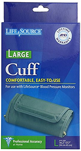 LifeSource Large Replacement Cuff for Blood Pressure Monitors (UA-281)