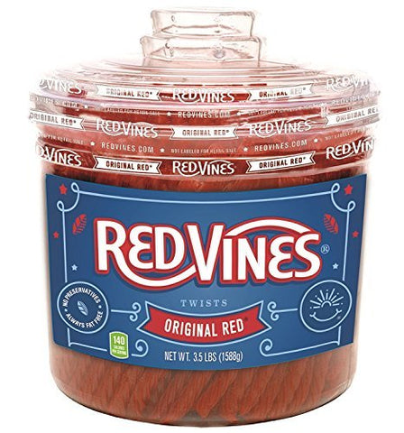 Red Vines- Original Red Twists, 5.5lb Tub