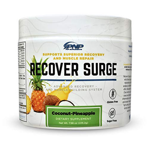 Recover Surge | Essential Post Workout Recovery Muscle Builder with BCAAs, Creatine Blend, L-Glutamine Blend, Muscle Cleanse Matrix and Muscle Reload Matrix | 226.2g
