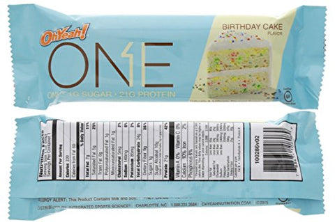 Oh Yeah! ONE Protein Bar Variety Pack, 12 count, Gluten-Free Protein Bars with High Protein (20g) and Low Sugar (1g), Guilt Free Snacking for Healthy Diets