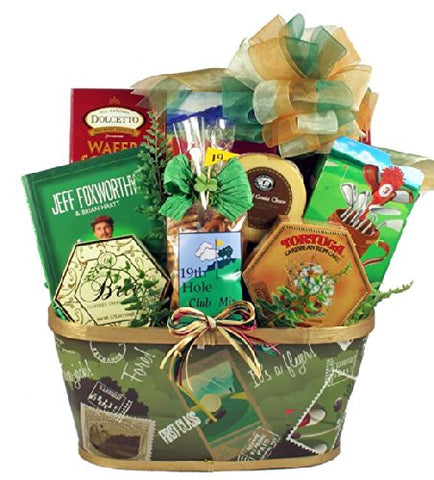 19th Hole Club | Golf Themed Fathers Day Gift Basket