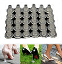 Image of Flyusa 10 Pairs Cylinder Shape High Heel Protectors Shoes Stopper Cover Clear -Walk Safely on High Heels Shoe Cover,Fits for Heel Size 0.39 inch