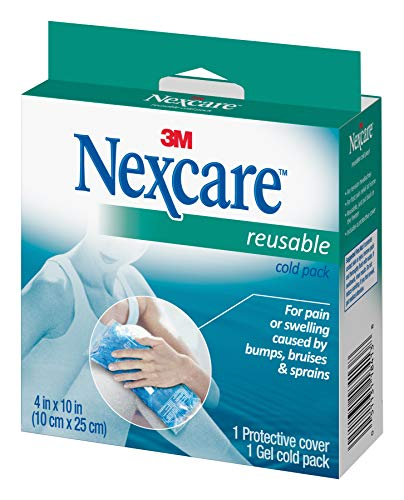 Nexcare Reusable Cold Pack, 1Count Boxes (pack Of 4)