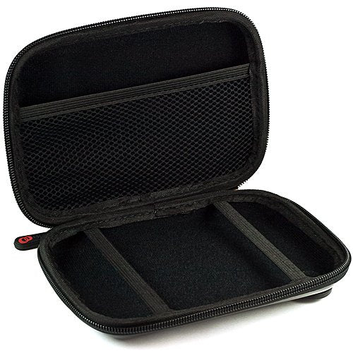 SumacLife Hard Shell Protective Case for Diabetic Organizer Carrying Case, Kit (Black)