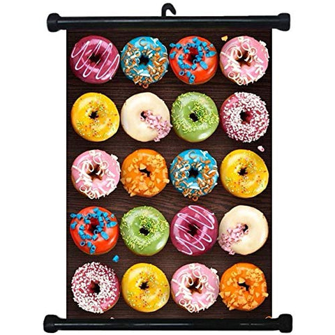 sp217088 Donuts Wall Scroll Poster For Bakery Shop Decor Display
