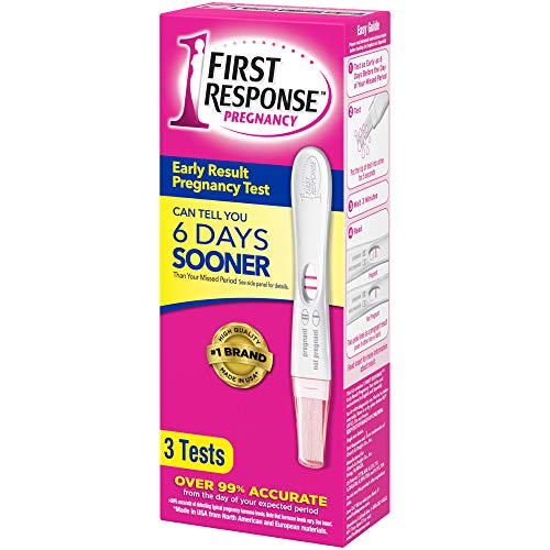 First Response Early Result Pregnancy Test, 3 Count(Packaging & Test Design May Vary)