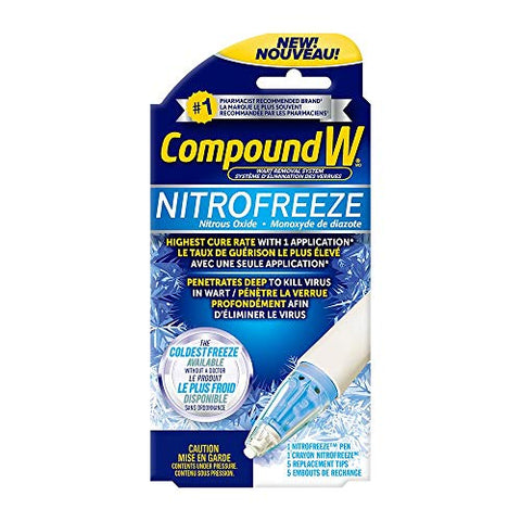 CompoundW Nitrofreeze Wart Removal System