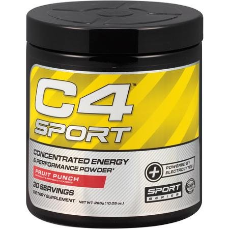 Ellucor C4 Sport Rare Fruit Punch 30 Servings