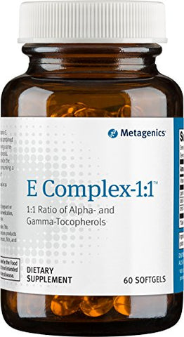 Metagenics - E Complex-1:1, 60 Count