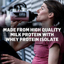 Image of Science in Sport Overnight Protein, 25g Protein Blend, Whey Protein Isolate and Casein Protein, 2.2lb Cookies and Cream Protein - 28 Servings
