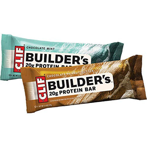 Bulk Pack Protein Bars (Clif Builder's Protein, Variety, 18-Pack)