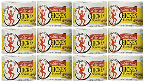 Underwood Chicken Spread - 4.25 oz (12 pack)