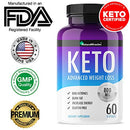 "Image of Keto Diet Advanced By Natura Miracles/Qflã¢â""⢠ 800 Mg   120 Capsules   60 Days Supply (2 Bottles)"