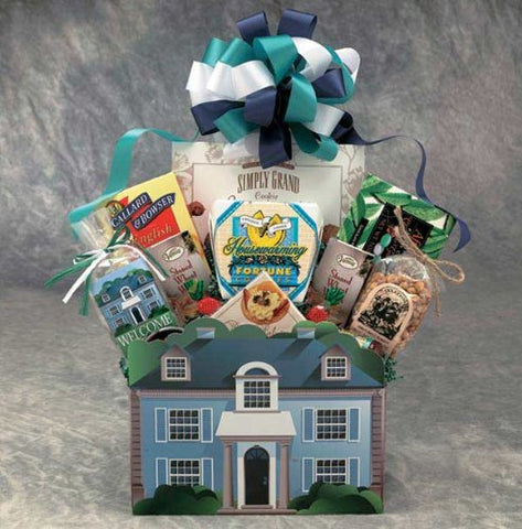 Home Is Where the Heart Is Gourmet Snack Gift Basket -Md
