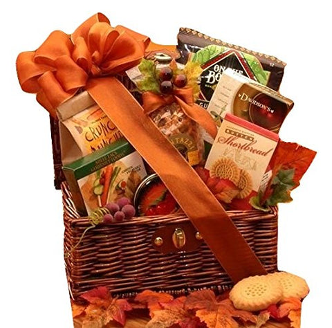 A Chest of Snacks - Thanksgiving Gift Basket