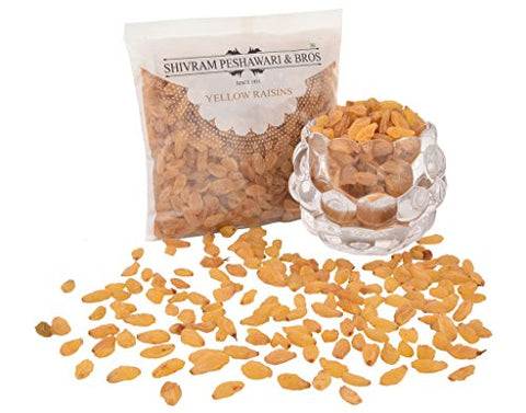 Yellow Raisins / Kishmish 250 Gm (8.81 Oz)