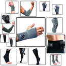 Image of Vital Salveo Compression Recovery Carpal Tunnel Wrist Hand Sleeve/Brace(Large) 1 Pc