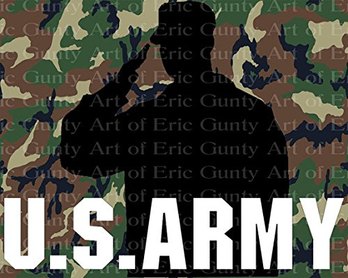 1/4 Sheet - U.S. Army Birthday - Edible Cake/Cupcake Party Topper - D21914