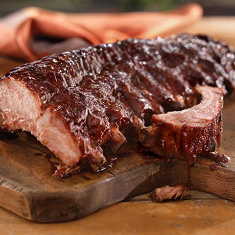 Creekstone Farms Natural Duroc Pork Back Ribs (4 Racks)
