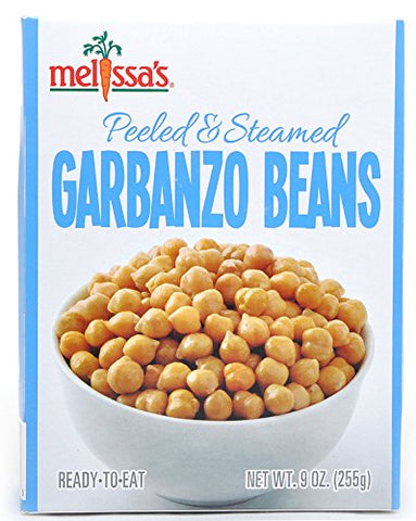 Steamed Garbanzo Beans, 9oz (3 packages)