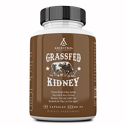 Ancestral Supplements Kidney (High In Selenium, B12, Dao) â?? Supports Kidney, Urinary, Thyroid, His