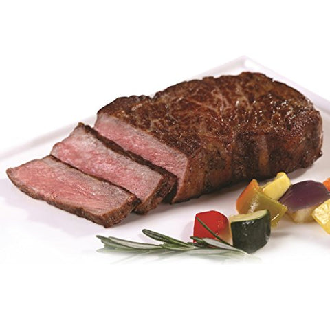 New York Prime Beef - Wagyu USA - 4 x 16 Oz. Steaks - THE BEST STEAK ON THE PLANET via Fed Ex overnight