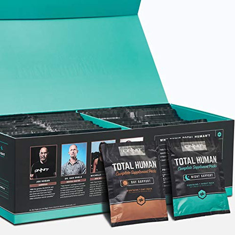 Onnit Total Human   Daily Vitamin Packs For Men & Women (60 Pack)   10x Your Multivitamin   Packed W