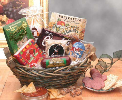 Snack Time! Fun Gourmet Snack Gift Basket