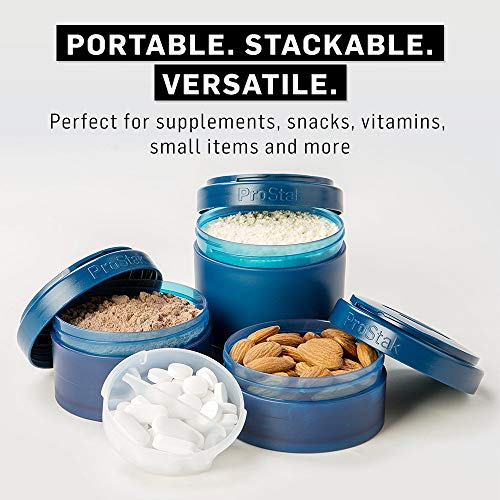 ProStak System with 22-Ounce Bottle and Twist n' Lock Storage, Navy