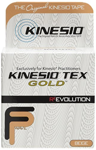 "Kinesio Kinesiology Tape - 2"" x 16.4' - Beige - pack of 3"