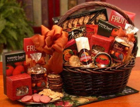 Thoughtful Appreciation Gourmet Thank You Gift Basket