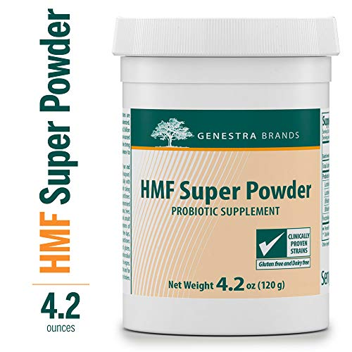 Genestra Brands - HMF Super Powder - Probiotic Formula to Support Healthy Gut Flora* - 4.2 oz (120 g)