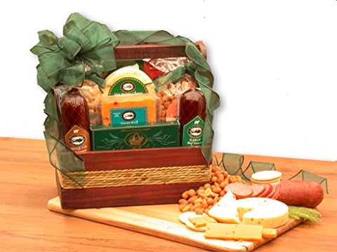 Gourmet Sausage and Nuts Gift Basket
