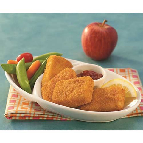 Trident Seafoods Oven Ready Whole Grain Pollock Nugget, 1 Ounce -- 1 each.