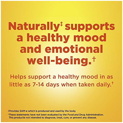 Nature Made SAM-e Complete 400 mg Tablets, 36 Count Value Size, Supports a Healthy Mood & Joint Comfort (Packaging May Vary)