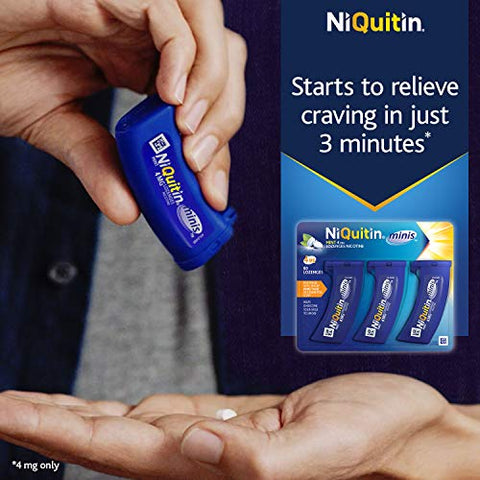 NiQuitin 4 mg Minis Mint Lozenges - by Niquitin