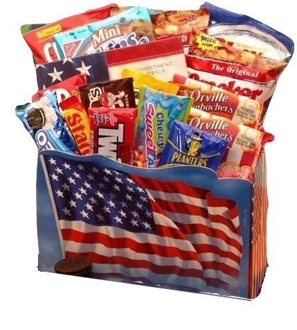 July 4th Freedom Gourmet Snack Basket