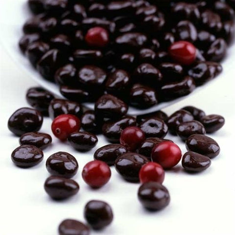 Andy Anand Vegan Dark Chocolate Covered California Cranberries Wholesale Bulk, For Birthday, Valentine Day, Gourmet Christmas Holiday Food Gifts, Thanksgiving, Mothers Fathers Day, Weddings (1lbs)