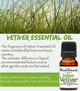 Image of Miracle Botanicals Organic Indian Vetiver Essential Oil - 100% Pure Chrysopogon Zizanioides - 10ml or 30ml Sizes - Therapeutic Grade - 30ml/1oz.