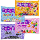 Image of Brachs Easter Jelly Beans Eggs Candy | 4 Flavors Speckled, Classic, Black and Spiced Jelly Bird Eggs | Great Easter Basket Stuffer, Hunt, Treats or Springtime Treat. (4 Mix Eggs)