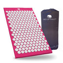 Image of Bed of Nails, Pink Original Acupressure Mat for Back/Body Pain Treatment, Relaxation, Mindfulness