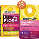 Image of Renew Life Womens Probiotic   Ultimate Flora Women's Care Go Pack Probiotic Supplement   Shelf Stabl