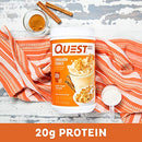 Image of Quest Nutrition Cinnamon Crunch Protein Powder, High Protein, Low Carb, Gluten Free, Soy Free, 25.6 Ounce (Pack of 1)