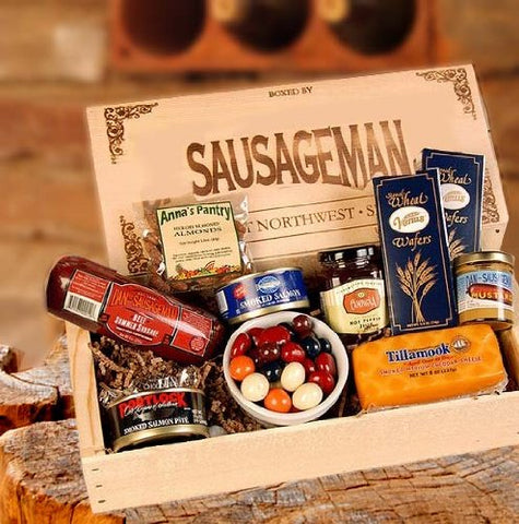 Perfect Variety Gourmet Meat and Cheese Gift Basket