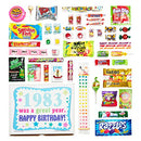 Image of Woodstock Candy ~ 1983 37th Birthday Gift Box Of Nostalgic Retro Candy From Childhood For 37 Year Ol