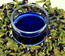 Image of 4 Packs Butterfly Pea Flower Healthy Thai Dried Herb Tea Drink Blood Health ORGANIC Natural Blue Eye Food Pure 50g Coloring Cooking by mewinshop