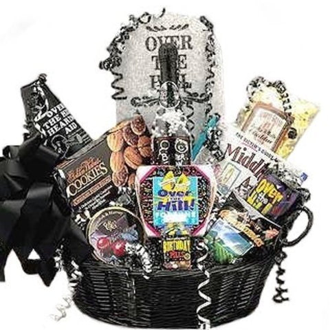 Happy Birthday Over the Hill Gift Basket