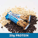 Image of Quest Nutrition Oatmeal Chocolate Chip Protein Bar, High Protein, Low Carb, Gluten Free, Keto Friendly, 12 Count